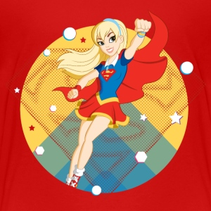 DC Super Hero Girls Supergirl - Premium T-skjorte for tenåringer