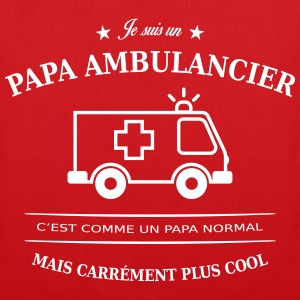 papa ambulancier Sacs et sacs à dos - Tote Bag