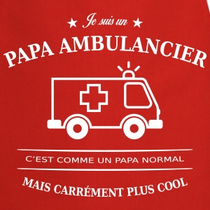 papa ambulancier Tabliers - Tablier de cuisine