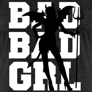 Bad Bad Girl - Frauen Premium T-Shirt