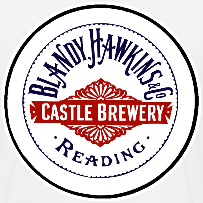 Blandy & Hawkins' Castle Brewery, Reading (Back)