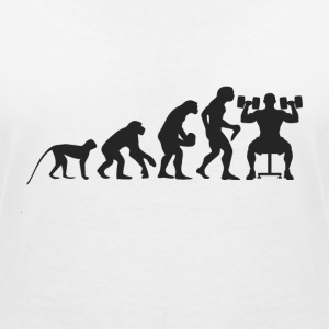 Evolution Fitness T-Shirts - Women's V-Neck T-Shirt