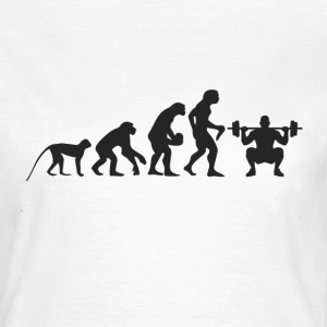 Evolution Fitness T-shirts - Dame-T-shirt