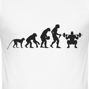 Evolution Fitness T-Shirts - Men's Slim Fit T-Shirt