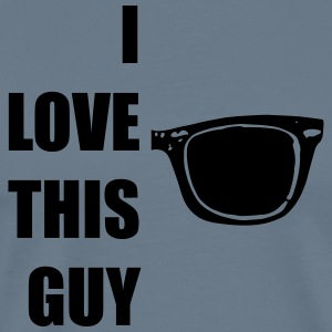 I LOVE THIS GUY / CASEY T-Shirts - Männer Premium T-Shirt