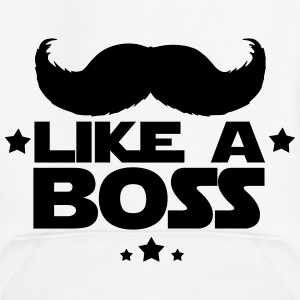 like a boss(moustache) Sweats - Pull à capuche Premium Enfant