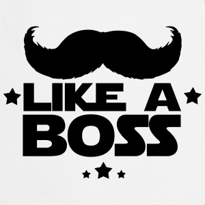 like a boss(moustache) Tabliers - Tablier de cuisine