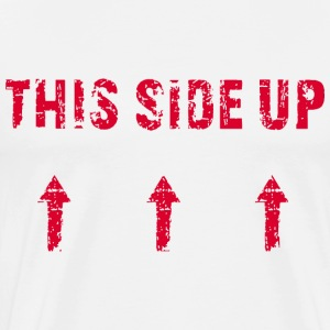 This Side Up - Red - Männer Premium T-Shirt