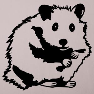 """Shirts mit Tier-Motiv """"Hamster sitzt"""""""