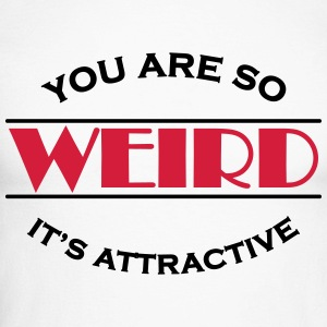 You are so weird - It's attractive Shirts met lange mouwen - Mannen baseballshirt lange mouw