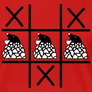 """Shirts mit Tier-Motiv """"Maulwurf im Garten"""""""