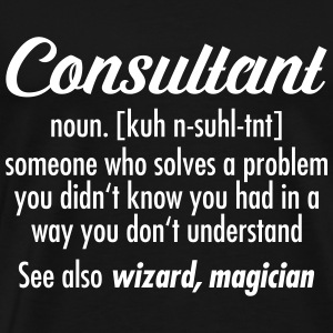 Consultant - Definition T-shirts - Herre premium T-shirt