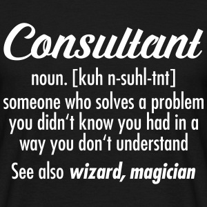 Consultant - Definition T-skjorter - T-skjorte for menn