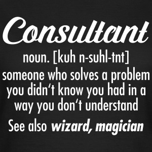 Consultant - Definition T-shirts - T-shirt dam