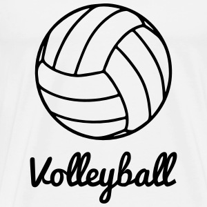Volleyball Volley ball T-shirts - Premium-T-shirt herr