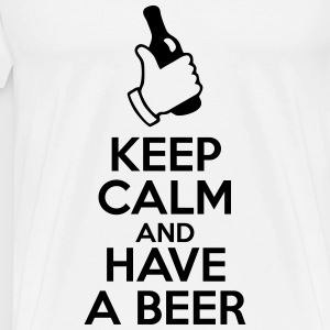 Keep calm and have a beer - Men's Premium T-Shirt