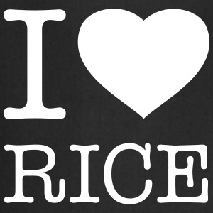 I LOVE RICE  Aprons - Cooking Apron