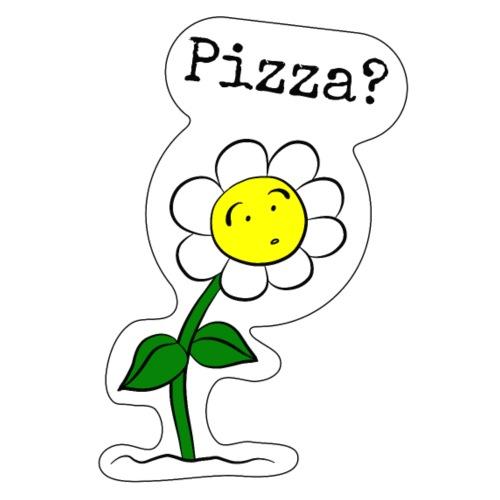 Sonnenblume-Pizza