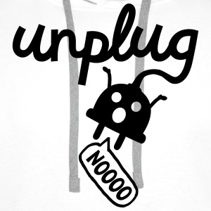 Unplug Sweat-shirts - Sweat-shirt à capuche Premium pour hommes