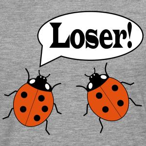 """Shirts mit Tier-Motiv """"Marienkäfer Loser Spruch"""""""