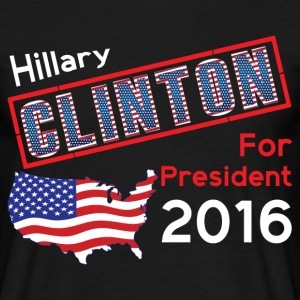 Hillary Clinton For President 2016 T-Shirts - Men's T-Shirt