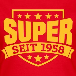 Super seit 1958 T-Shirts - Frauen T-Shirt
