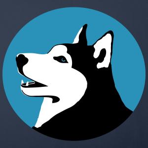 "Shirts mit Tier-Motiv ""Husky Schlittenhund"""