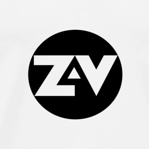 Zvooka Records Logo T-Shirts - Men's Premium T-Shirt