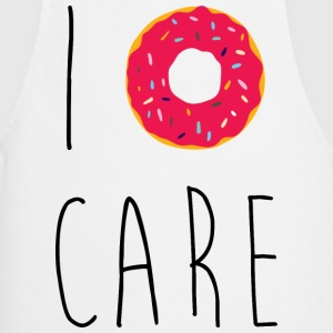 I Donut Care Funny Quote  Aprons - Cooking Apron