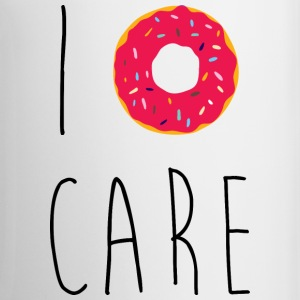 I Donut Care Funny Quote Mugs & Drinkware - Mug