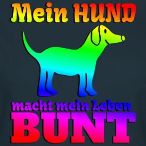 """Shirts mit Tier-Motiv """"Hund macht Leben bunt"""""""