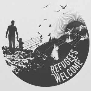 Refugees Welcome - Stoffbeutel