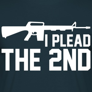 I Plead The 2nd  T-Shirts - Men's T-Shirt