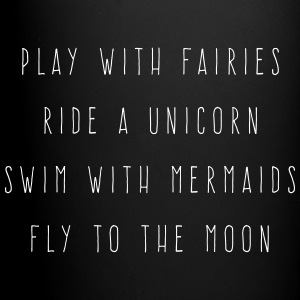 Play With Fairies Funny Quote Krus & tilbehør - Ensfarvet krus
