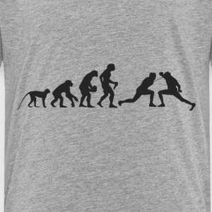 Evolution of fencing Shirts - Kids' Premium T-Shirt