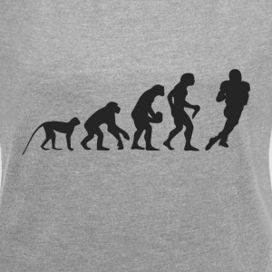 Evolution Football T-shirts - Dame T-shirt med rulleærmer