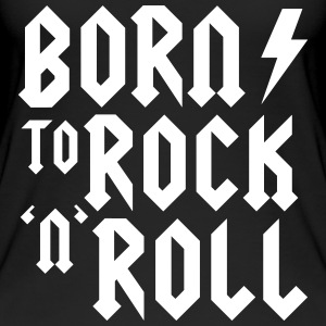 Born to rock n roll Tops - Vrouwen bio tank top