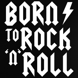 Born to rock n roll Baby Shirts  - Baby T-Shirt