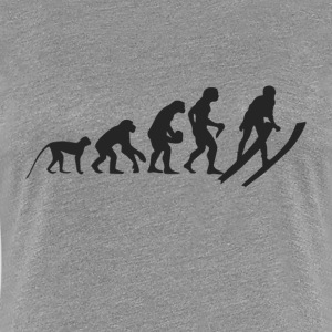 Evolution Ski T-Shirts - Women's Premium T-Shirt