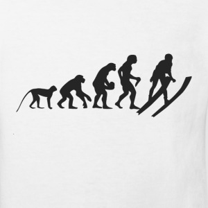 Evolution Ski Shirts - Kinderen Bio-T-shirt