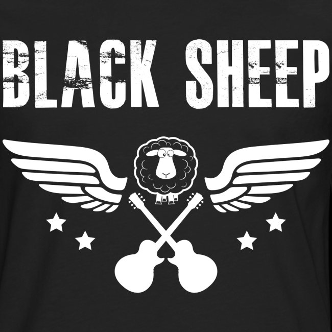 Black Sheep Wings Männer Premium Langarmshirt