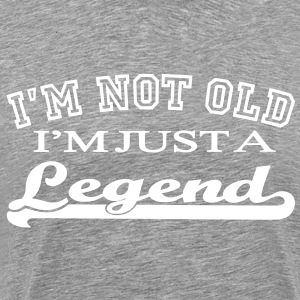 Not Old - A Legend - Männer Premium T-Shirt
