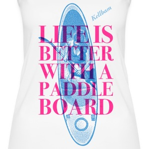 Surfergirl Bio-Tank-Top - Frauen Bio Tank Top