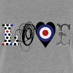 Love Mods Black - Frauen Premium T-Shirt