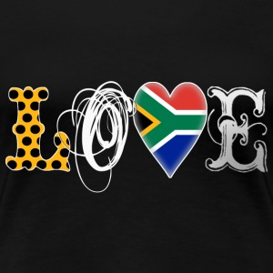 Love South Africa White - Frauen Premium T-Shirt