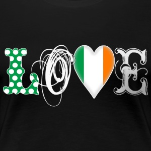 Love Eire White - Frauen Premium T-Shirt