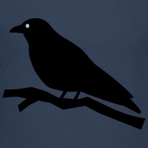 """Shirts mit Tier-Motiv """"Rabe auf Ast"""""""