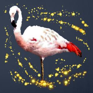 "Shirts mit Tier-Motiv ""Glitzer Flamingo"""