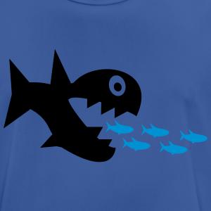 """Shirts mit Tier-Motiv """"Hai mit Fischen"""""""