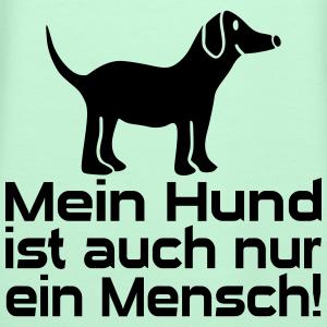 """Shirts mit Tier-Motiv """"Hund Mensch"""""""